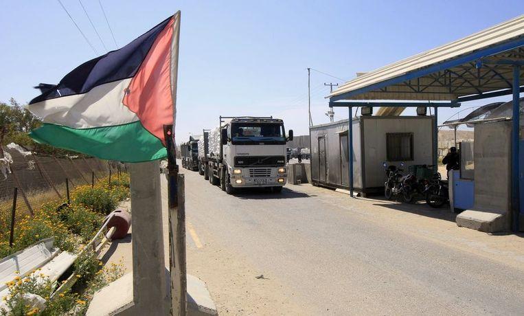 De grensovergang van Kerem Shalom.