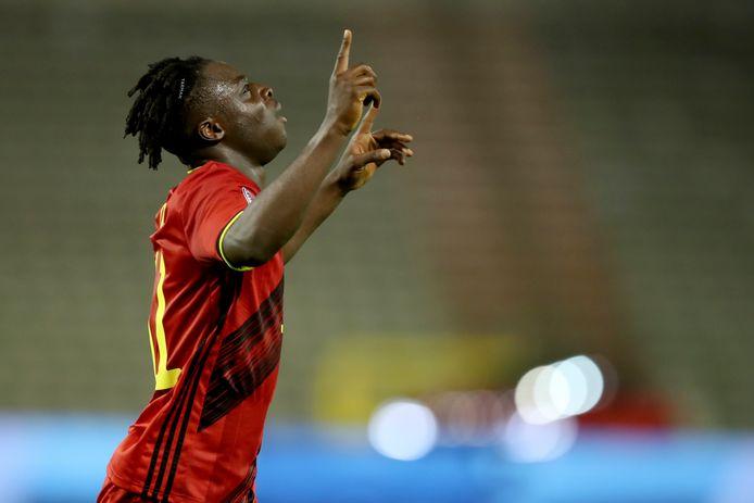 Jérémy Doku est devenu Diable Rouge en décembre et il a garni ses premières sélections d'un premier but.