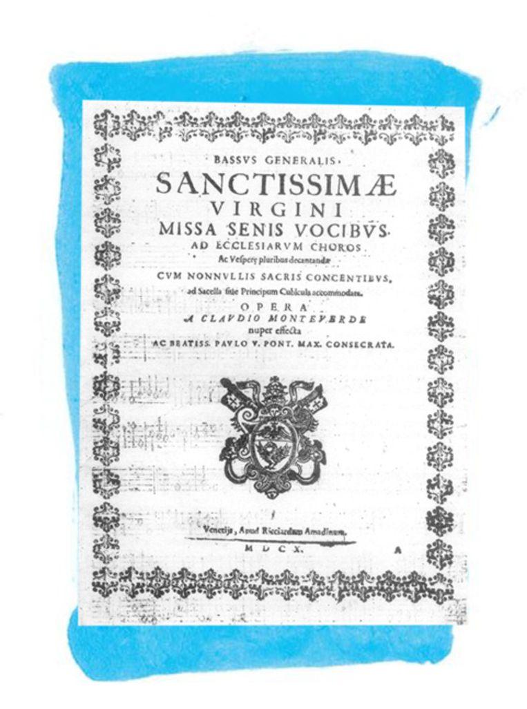 Mariavespers (1610), Duo Seraphim Beeld