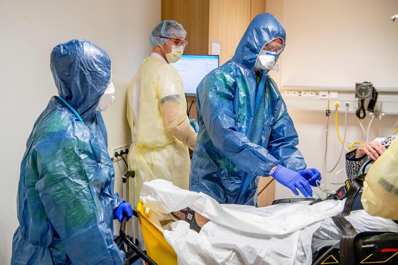 De intensive care van het Amphia ziekenhuis. Beeld ANP / Robin Utrecht