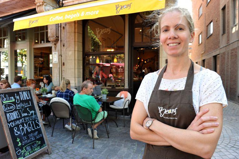 Sarah Van den Bril, uitbaatster van Beans.