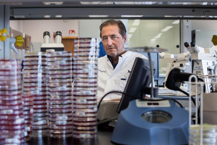 Jan Kluytmans, hoogleraar en arts-microbioloog van het Amphia in Breda.