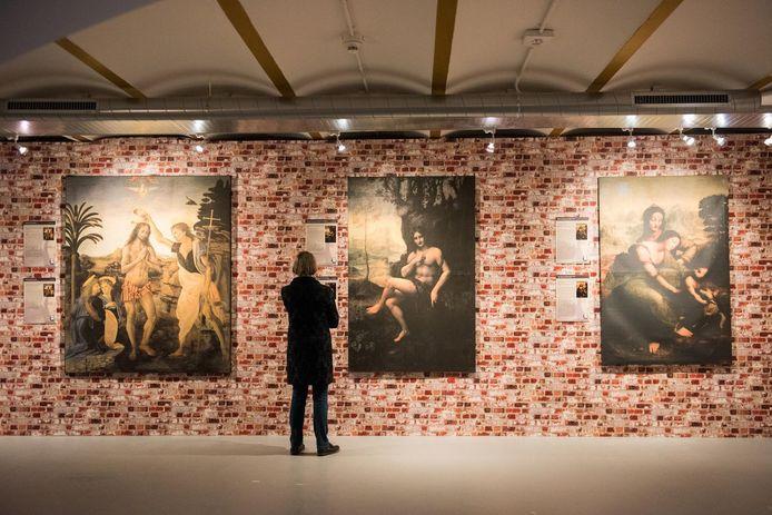 De reizende Da Vinci expositie 'Leonardo da Vinci, kunstenaar - uitvinder - genie komt naar Ulft '.