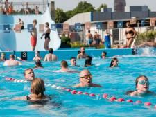 Drukte bij zwemvierdaagse in Enschede: 'Beetje puzzelen'