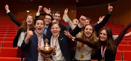 Scholieren uit Deventer net geen kampioen NK debatteren