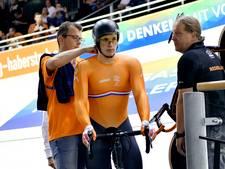 Baanwielrenner Lavreysen pakt brons met teamsprint