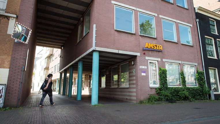 Een vestiging van Amsta aan de Overtoom. Beeld Mats van Soolingen