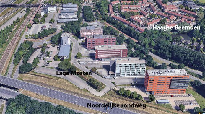 De Lage Mosten in Breda-Noord.