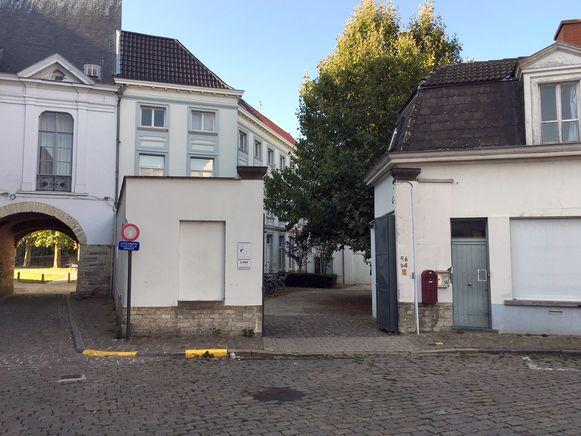 Het gebouw van Klemenswerk in het Prinsenhof
