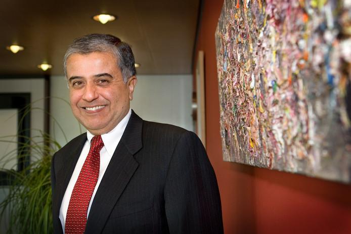Fred Hassan nadat hij in 2007 Organon aankocht.