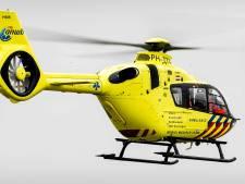 Traumahelikopter uitgerukt voor persoon te water in Milheeze