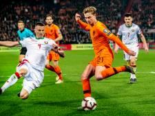 Frenkie de Jong legt lat hoger: 'Tegen Duitsland moet het beter'