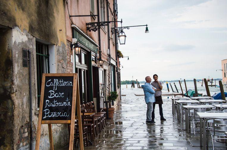 Pizzeria in Venetië.