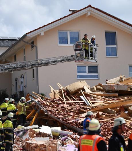 Explosie verwoest Duits huis, dode gevonden