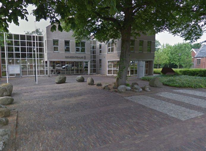 Het gemeentehuis van Westerwolde in Sellingen
