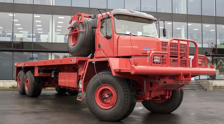 De grootste truck ooit van metaalconstructeur Mol.