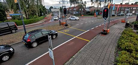 Verkeersdrukte door de afsluiting van de Bovensteweg Oosterhout valt mee