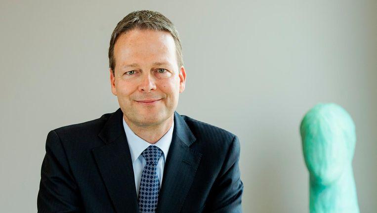 Ton Buchner, CEO van AkzoNobel Beeld anp