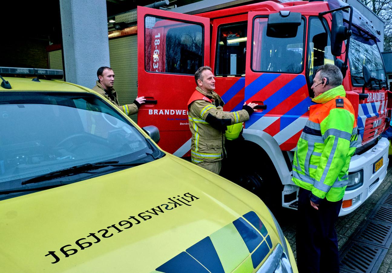 De brandweer rukt de komende tien weken uit vanaf het terrein van Rijkswaterstaat.