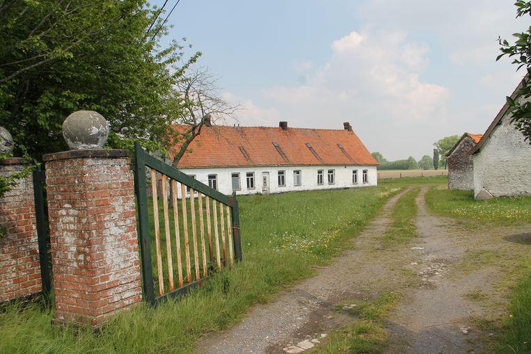De oude hoeve in de Hoogleenstraat.