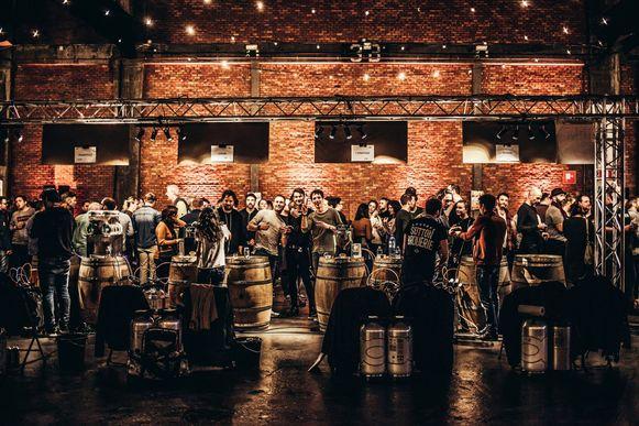 Billie's Craft Beer Fest in de Waagnatie in 2018.