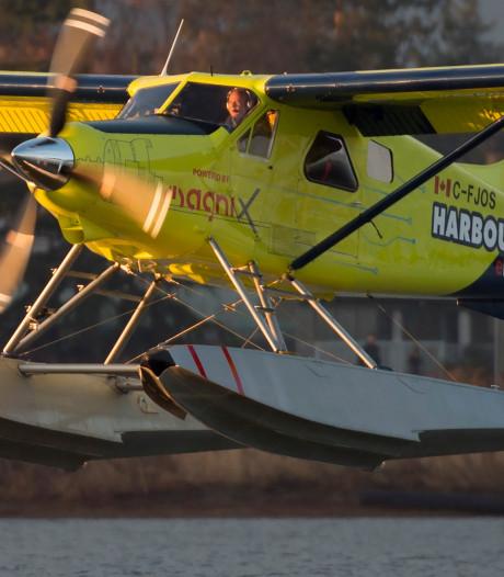 Canadese maatschappij maakt eerste vlucht met elektrisch vliegtuig
