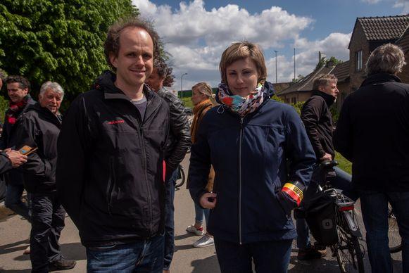 Hans Verbeeck (Viadukaduk) en Magali De Vos (Geen2deR17) slaan de handen in elkaar en schreven het masterplan Adem Ruimte voor de Gentse snelwegen.