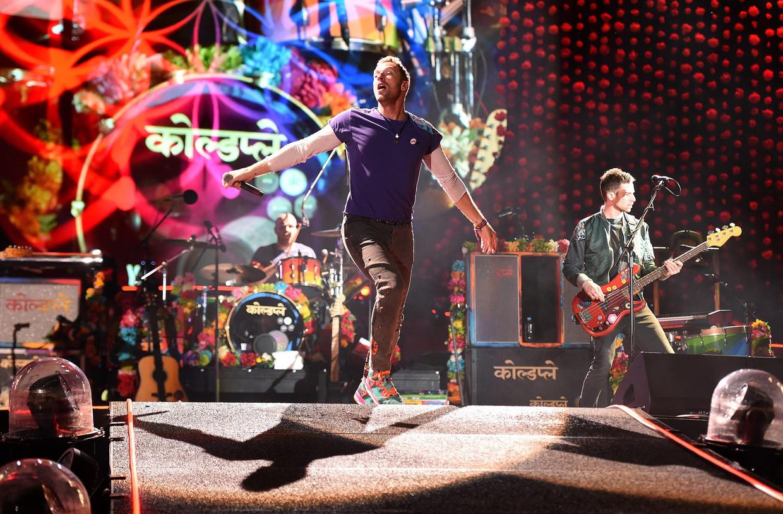 Coldplay Beeld EPA