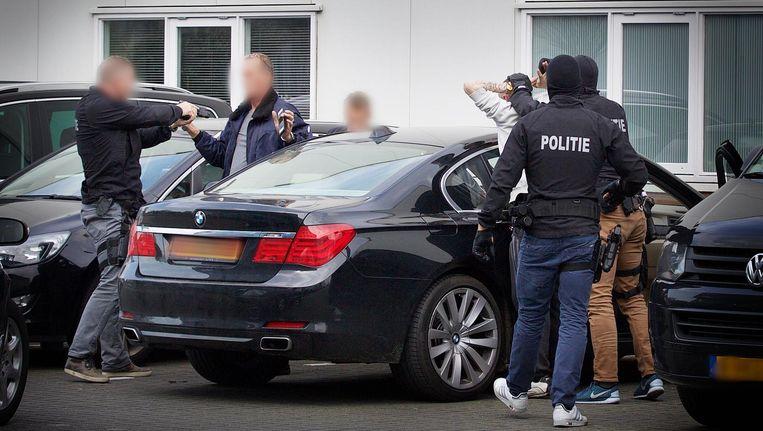 De politie doet grootschalig onderzoek naar drugshandel. In Den Haag werd in april een grote lading cocaïne gevonden Beeld Regio15NL