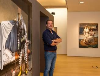 """Thuismatch voor Antwerps kunstenaar Eddy Stevens met nieuwe expo: """"Over de druk om te voldoen aan hedendaagse waarden"""""""