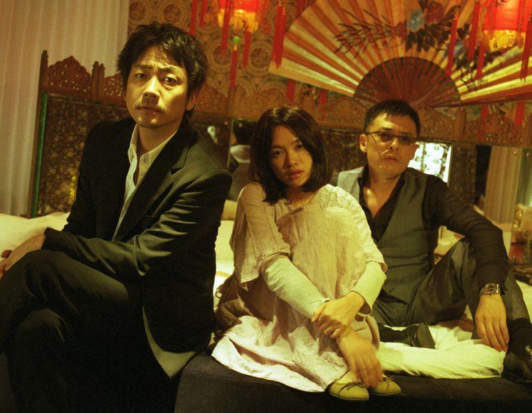 Filmstill van een scène uit Tokyo Playboy Club. Beeld