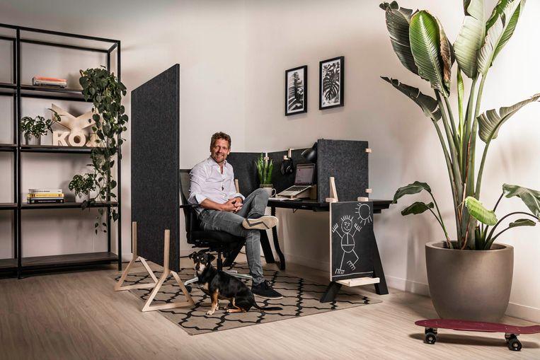 Marius Bos, ceo van KOPexpo, in de Workhub. Beeld KOPexpo