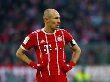Robben moet toekijken bij mogelijke kampioenswedstrijd