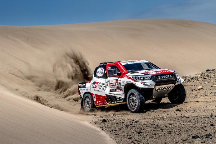 Bernhard ten Brinke van het Toyota Gazoo Racing-team werd maandag zevende. Foto Foto Bernhard ten Brinke Racing