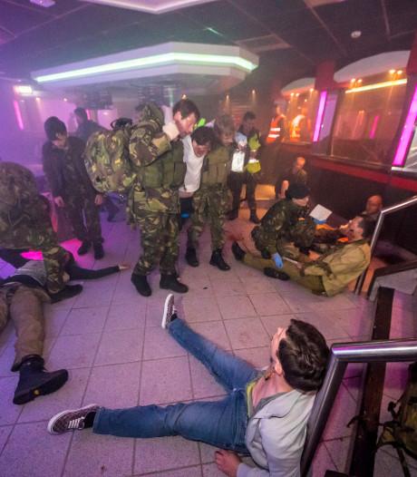 Oefening Bataclan-scenario in Reutum: 'Klaar zijn voor calamiteit'