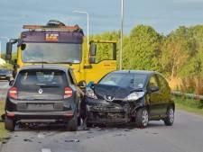 Vier gewonden door ongeluk bij de Heen