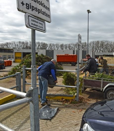 Bedrijfsafval mag niet meer naar Oosterhoutse milieustraat