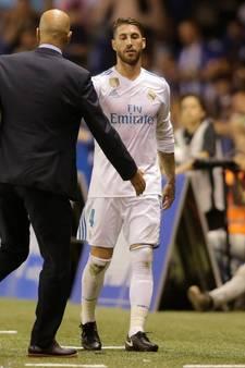 Sergio Ramos na 23ste rode kaart: 'Kijk naar Engeland'