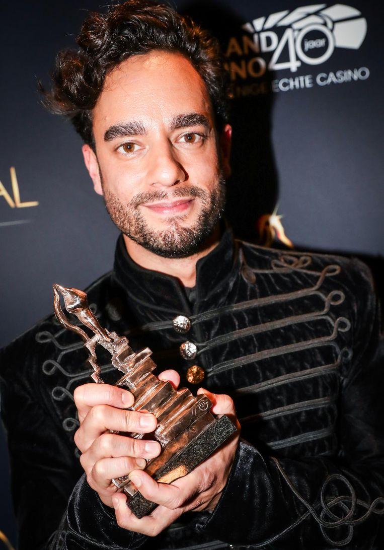 Freek Bartels won vorig jaar een Musical Award. Beeld anp
