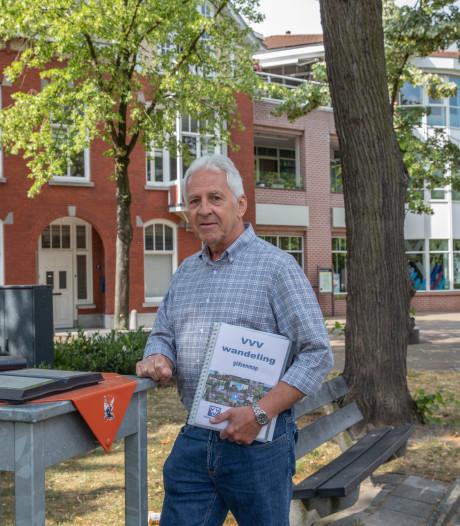 De VVV-gids: Jos van Lieshout gidst bezoekers door Valkenswaard