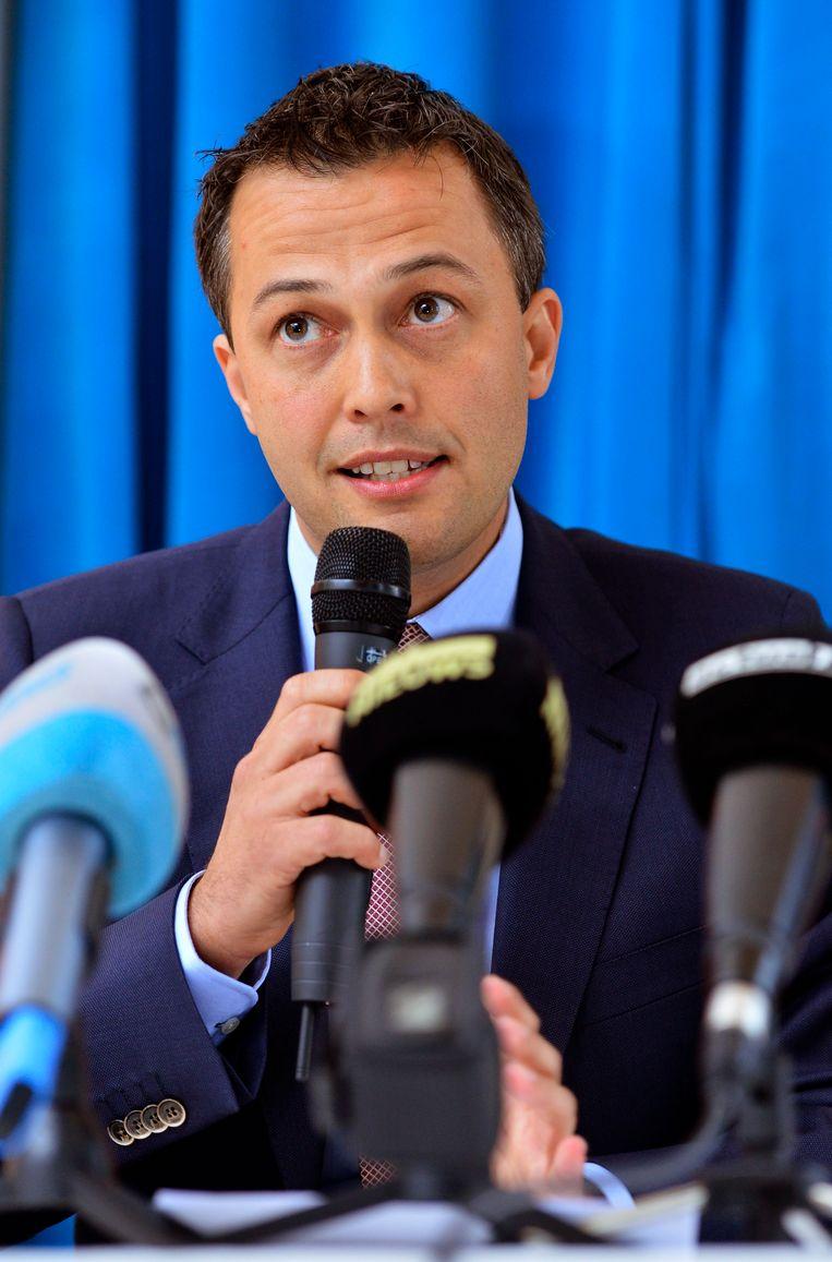 Egbert Lachaert, Kamerlid voor Open Vld.