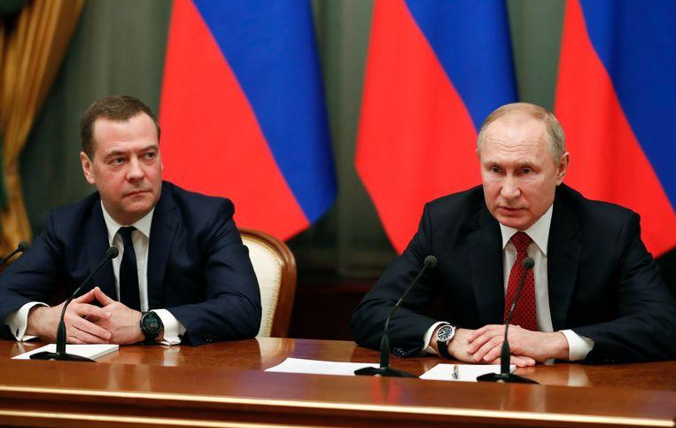Medvedev vormt al jaren een regerend duo met Poetin.