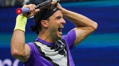 Federer genekt door rug... en verrassende Bulgaar