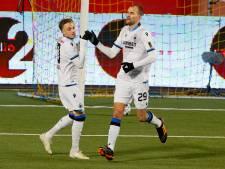 Dost scoort in eerste wedstrijd voor Club Brugge, ook Lang trefzeker