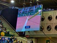 Tennisbond experimenteert met Hawk-Eye op gravel