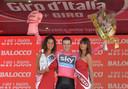 Salvatore Puccio droeg in 2013 even het roze in de Giro.