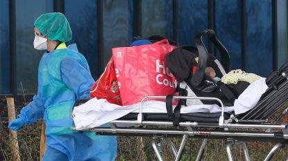 Baby'tje besmet met corona in Luik