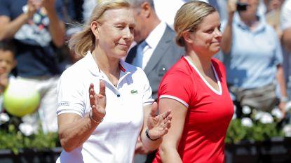 """Navratilova: """"Kim Clijsters heeft nog vier mooie jaren voor zich"""""""