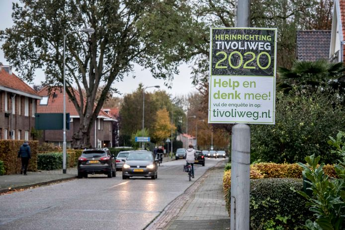 De Tivoliweg in Hulst.