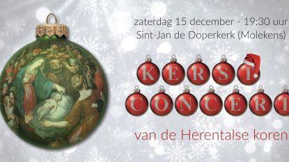 Kerstconcert Herentalse koren weer in aantocht